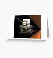 Agatha Christie Knows Whodunnit! Greeting Card