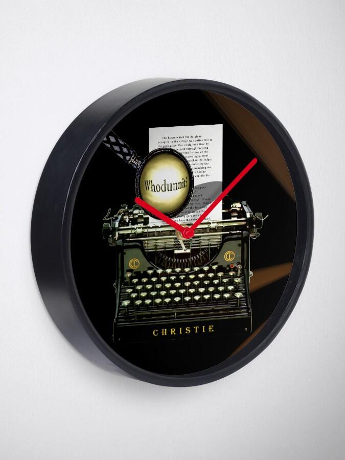 Alternative Ansicht von Agatha Christie kennt Whodunnit! Uhr