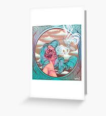 Spirit Lifting from Deep Within Greeting Card