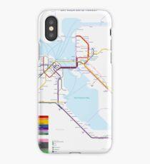 San Francisco Metro Map iPhone Case/Skin
