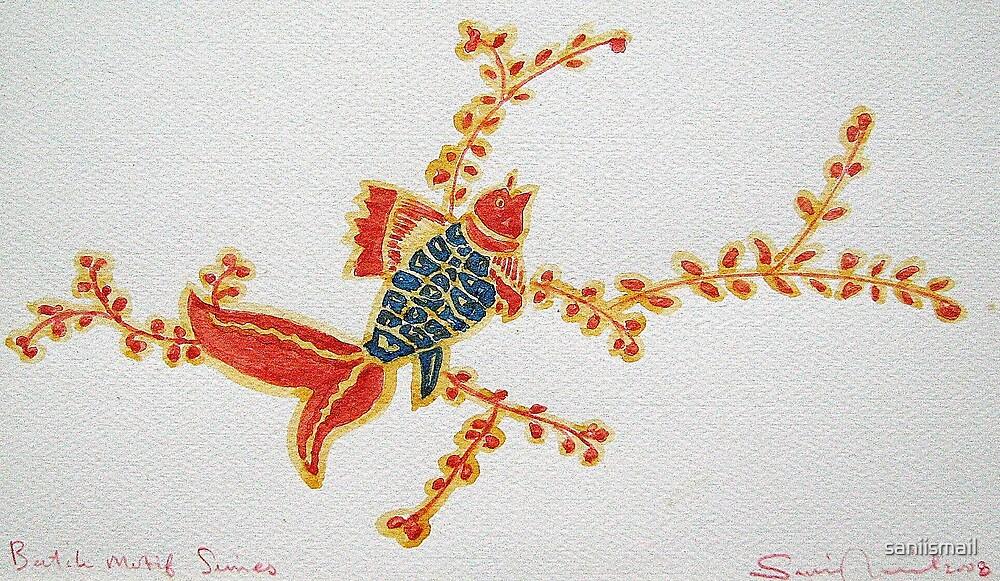 Batik Motif series III by saniismail
