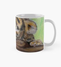 Sleepy Tiger Cub Mug