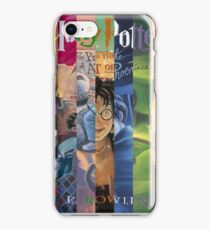 Harry Potter Cover Collage iPhone Case/Skin