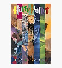 Harry Potter Cover Collage Photographic Print