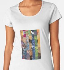Harry Potter Cover Collage Women's Premium T-Shirt