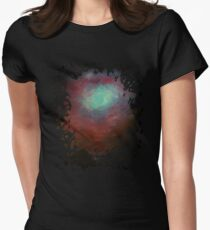 Spacious Sky Womens Fitted T-Shirt