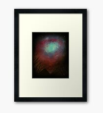 Spacious Sky Framed Print