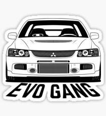 Mitsubishi Lancer Evolution 9 Evo Gang Shirts Sticker