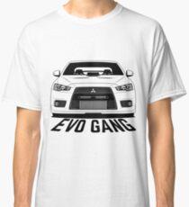 Mitsubishi Lancer Evolution 10 Evo Gang Shirts Classic T-Shirt