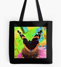 Rudbeckia attract butterfly Tote Bag