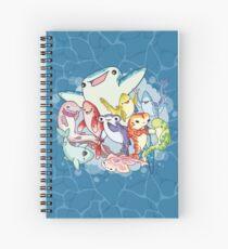 Shark Friends Spiral Notebook