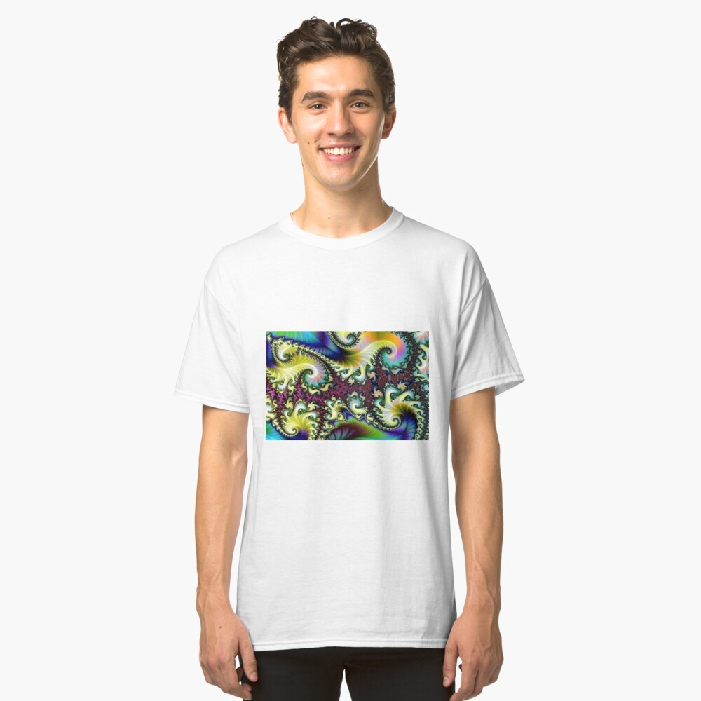 Psychedelic Dream. Classic T-Shirt Front