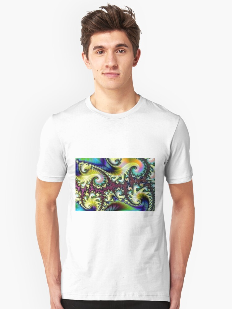 Psychedelic Dream. Unisex T-Shirt Front