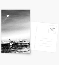 Run with a kite Postcards