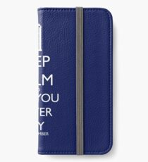 run you clever boy iPhone Wallet/Case/Skin