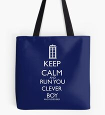 run you clever boy Tote Bag