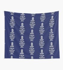 run you clever boy Wall Tapestry
