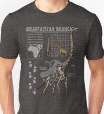 Giraffatitan brancai Infographic T-Shirt