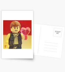 Han Solo Valentines Postcards