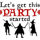 Let's Get This Party Started- DnD by Lucieniibi