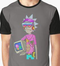 rickmorty vaporwave Graphic T-Shirt