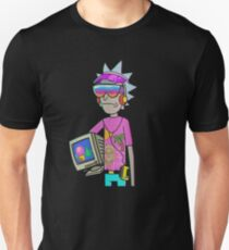 rickmorty vaporwave T-Shirt