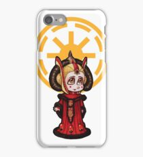 Queen Amidala Chibi -- Red iPhone Case/Skin