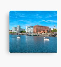 Salthouse Dock Canvas Print