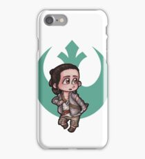 Rey Chibi -- Ahch-To iPhone Case/Skin