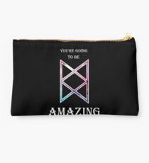 You're Going To Be Amazing -TAZ Studio Pouch