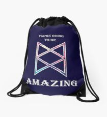 You're Going To Be Amazing -TAZ Drawstring Bag