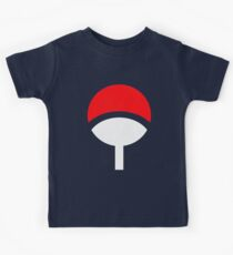 Uchiha Clan Symbols Kids Clothes