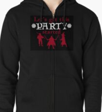 Let's Get This Party Started- DnD- Black Version T-Shirt