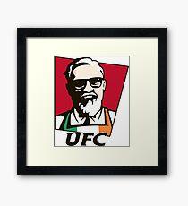 UFC KFC MCGREGOR Framed Print