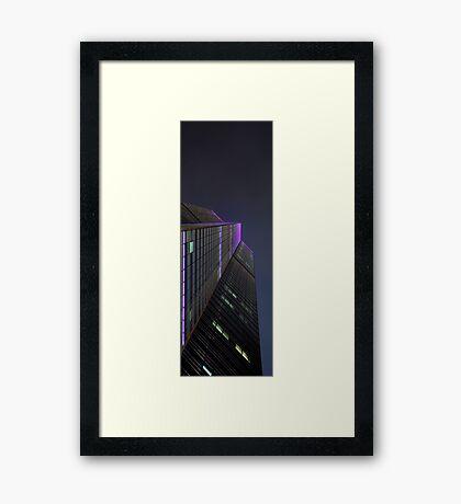 Untilted Framed Print