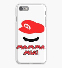 Mario Mamma mia! iPhone Case/Skin