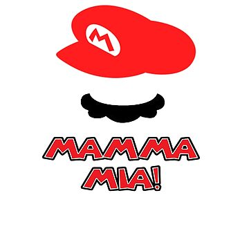 Mario Mamma mia! by NateSempai