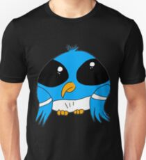 Big eye blue bird T-Shirt