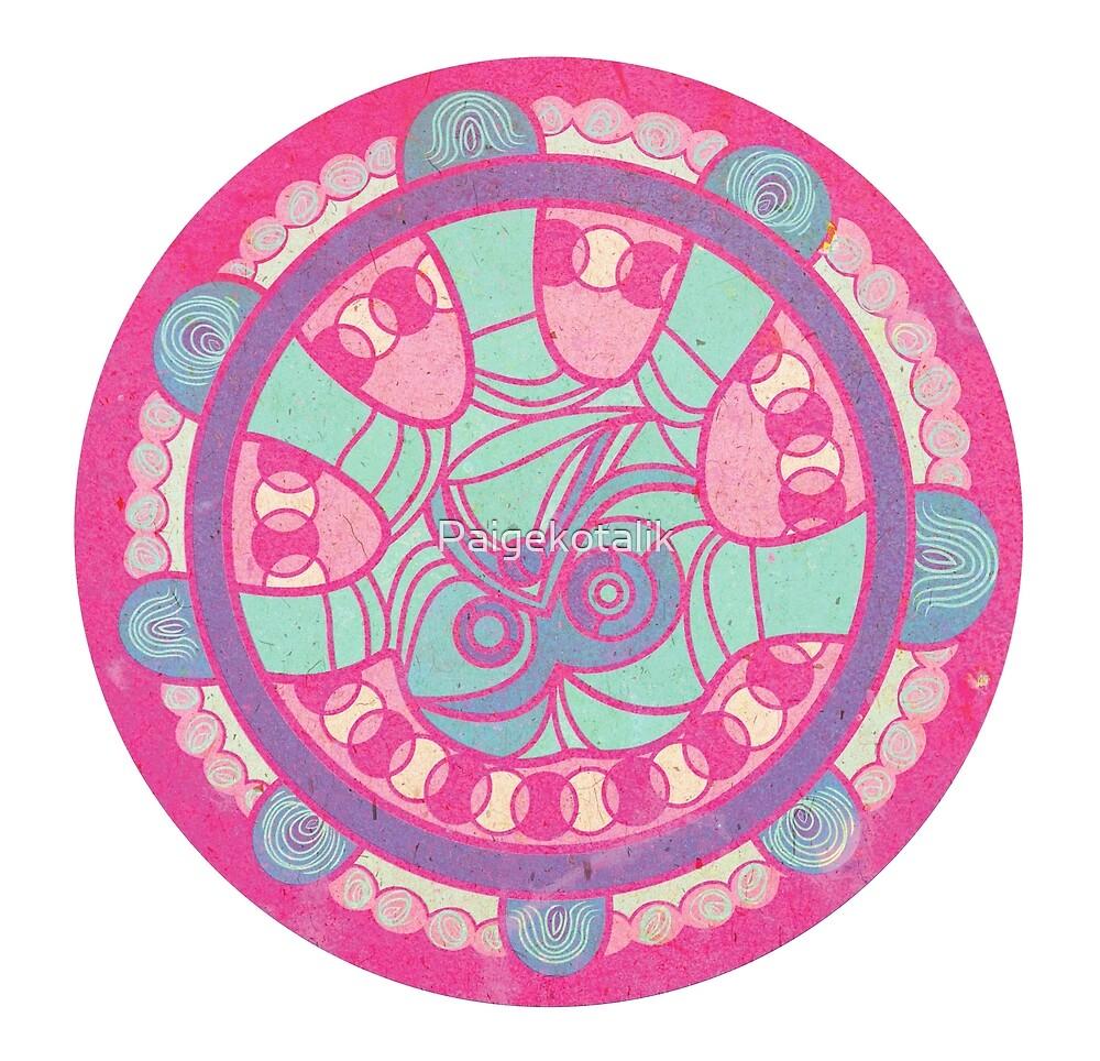 Hand Mandala 3 by Paigekotalik