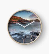The Giant's Causeway  Co Antrim  Northern Ireland Clock