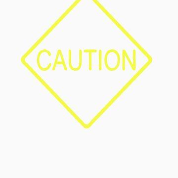 Caution by caltana