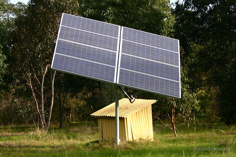 Solar Tracker by Erland Howden
