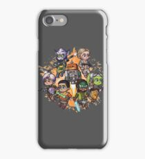 The Spectres Group Chibi iPhone Case/Skin