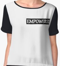 I AM EMPOWERED Women's Chiffon Top