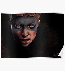 Senua - Hellblade Senua's sacrifice Poster