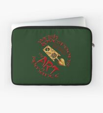 Hand Carved Welsh Lovespoons Laptop Sleeve