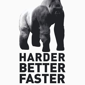 SILVERBACK - HARDER, BETTER, FASTER, STRONGER 2 by jonkox
