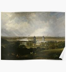 London from Greenwich Park 1809 J. M. W. Turner Poster