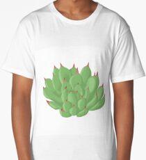 Echeveria Long T-Shirt