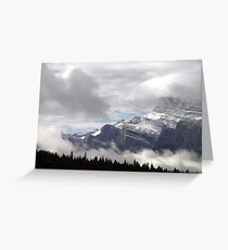 Summer Snowstorm - Banff Greeting Card